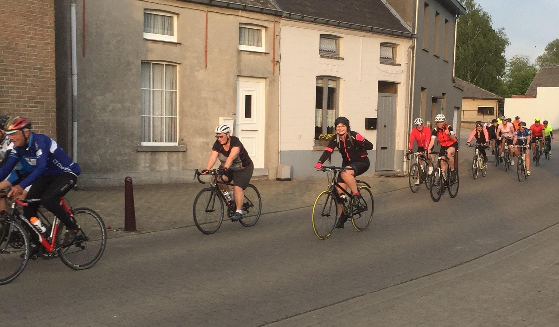 ritje start to cycle - eindpunt in zicht - 3