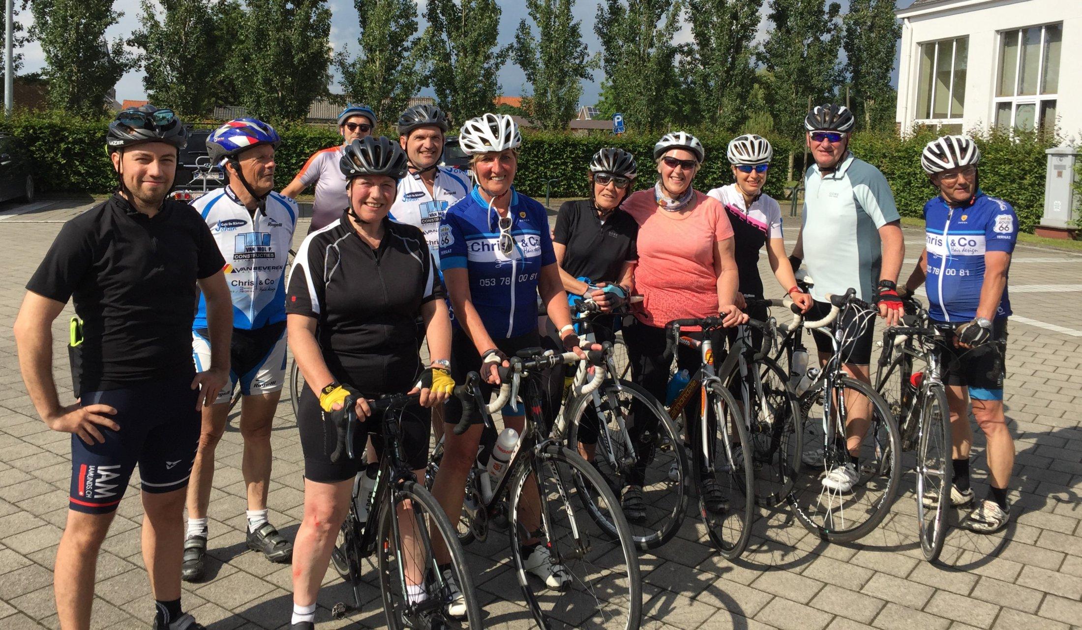 tweede groep geslaagde start to cycle