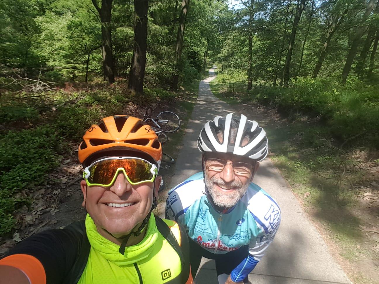 Veluwe 2018 tussen de bossen prachtige fietspaden